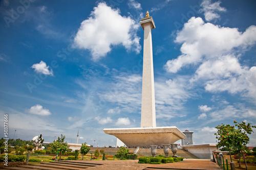 National Monument Monas. Merdeka Square,  Jakarta, Indonesia