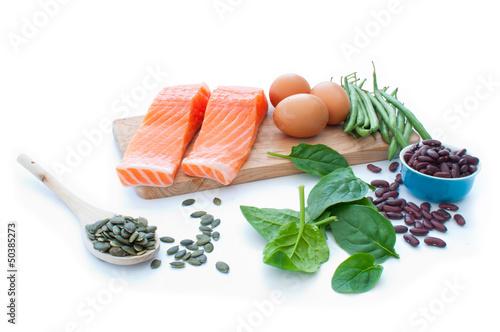 Fotografie, Obraz  Protein superfood diet
