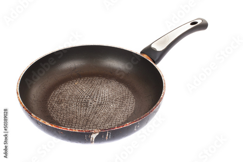 Fotografie, Obraz  images of kitchen ware. Old fry pan