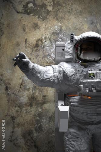 astronauta-pozy-3d-wewnetrzna-ilustracja