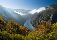 Sil River Canyon, In Orense, S...