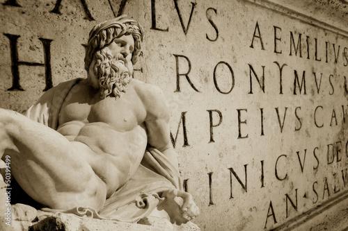 Foto op Aluminium Rome Roman Wallpaper