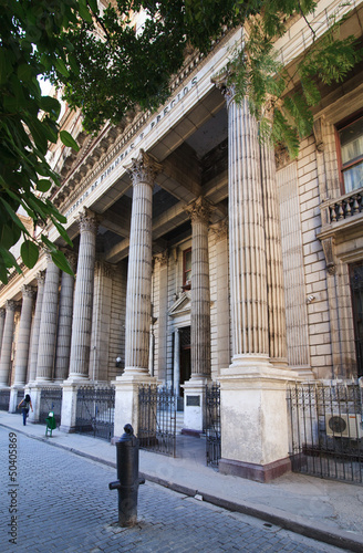 Photo Building of the Ministry of Finance.