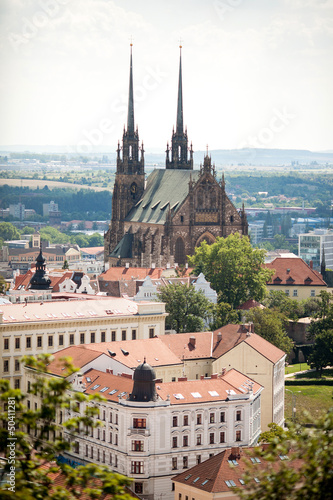 фотография  The Cathedral in Brno, Czech Republic.