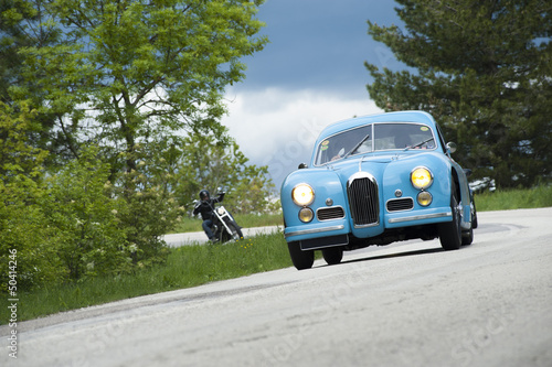 Deurstickers Oude auto s Historical car