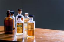 Vintage Medicine Bottle - Camphorated Oil