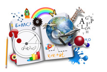 Open Learning Book With Scienc...