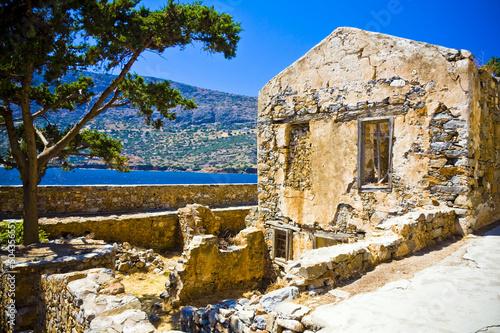 Fotografia Spinalonga Fortress Greece - Last Active Leprosy Colony