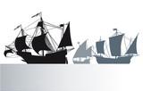 Die Schiffe von Christoph Kolumbus
