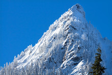 Snowy McClellan Butte Mountain...