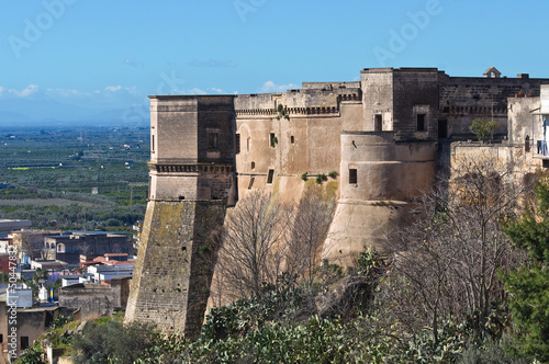 Photo  Castle of Massafra. Puglia. Italy.