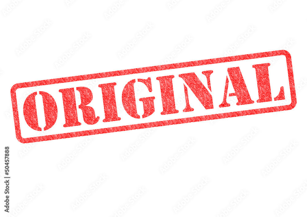 Fototapeta ORIGINAL Rubber Stamp