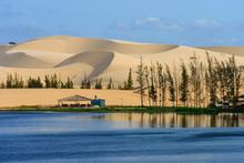 White Sand Dune In Mui Ne, Vie...