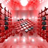 Red Digital Interior Room
