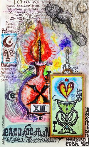 Papiers peints Imagination Love potion