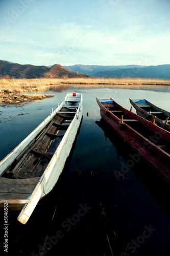 Fototapety, obrazy: Yunnan, China, Lugu Lake scenery