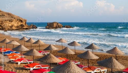 Foto op Canvas Cyprus Sea Sun Beach