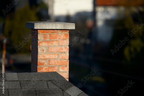 Chimney Fototapet