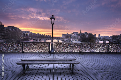 Fototapety, obrazy: Pont des arts Paris France