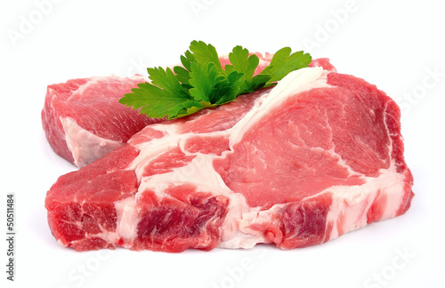 Staande foto Vlees Crude meat