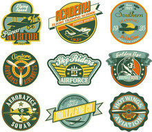 Aviation Badges Collection In ...
