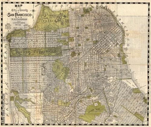 Fotografie, Obraz  San Francisko 1932