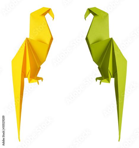 papuga-origami