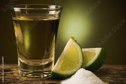 Fotografia copa de tequila