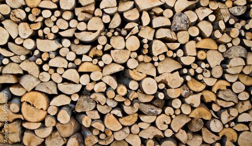 Obraz Drewno kominkowe - fototapety do salonu