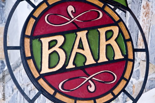 bar-retro-znak-witrazowy