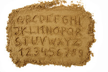 Sand Alphabet