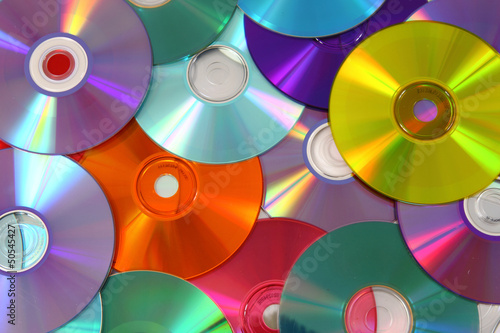 CD and DVD background #50545427