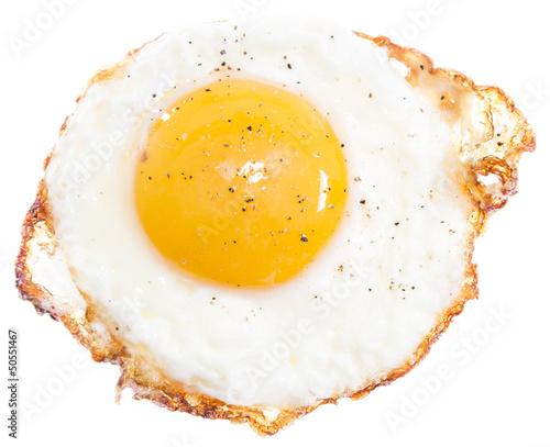 Photo Fried Egg isolated on white