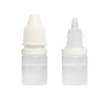 Eye Drop Bottle Isolated On White Background