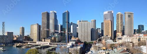 obraz PCV Sydney City Skyline Panorama, Australia.