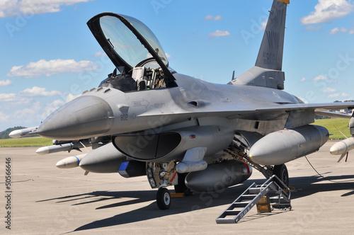 Fotografie, Obraz  F-16 フ ァ イ テ ィ ン グ フ ァ ル コ ン