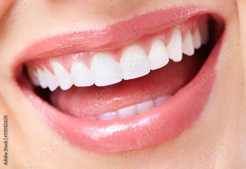 Beautiful woman smile. #50582635
