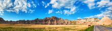 Scenic View At Badlands National Park, South Dakota, USA