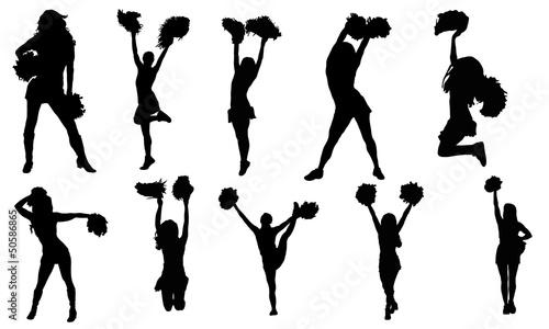 Fotomural Cheerleaders