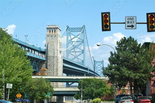 Cuadros en Lienzo  pont  de Philadelphie