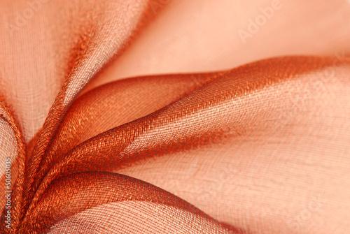 Obraz na plátně organza fabric texture
