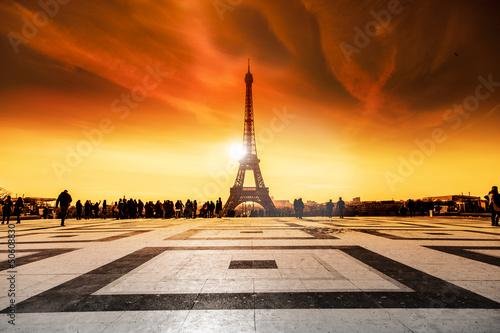 Torre Eiffel al tramonto