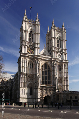 Fotografía  Westminster Abbey in London, England