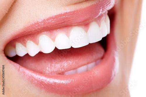 Beautiful woman smile. #50647464