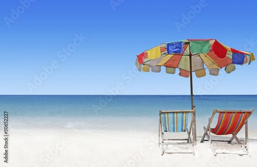 Foto-Leinwand - Strand in Thailand (von Cmon)