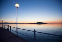 Sunset On Trasimeno Lake, Italy