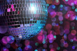 canvas print picture - disco