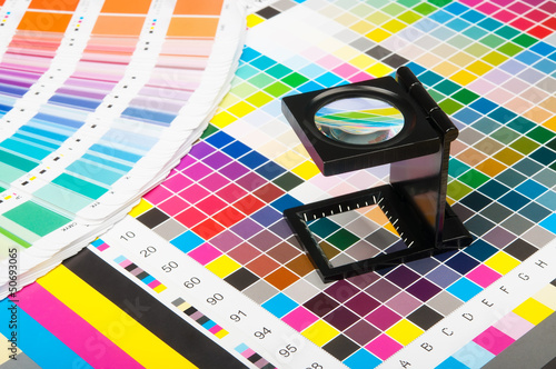 Fototapeta  Color management in print production