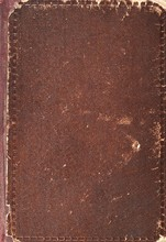 Old Book Cover Texture, Brown ...