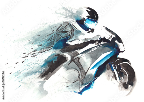 motorcycle racer #50714276